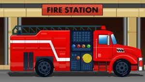 fire truck wallpaper