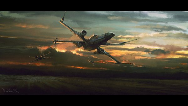 x wing wallpaper89 600x338