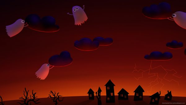 halloween wallpaper iphone9 600x338
