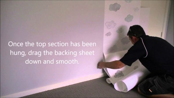 how to apply prepasted wallpaper10 600x338
