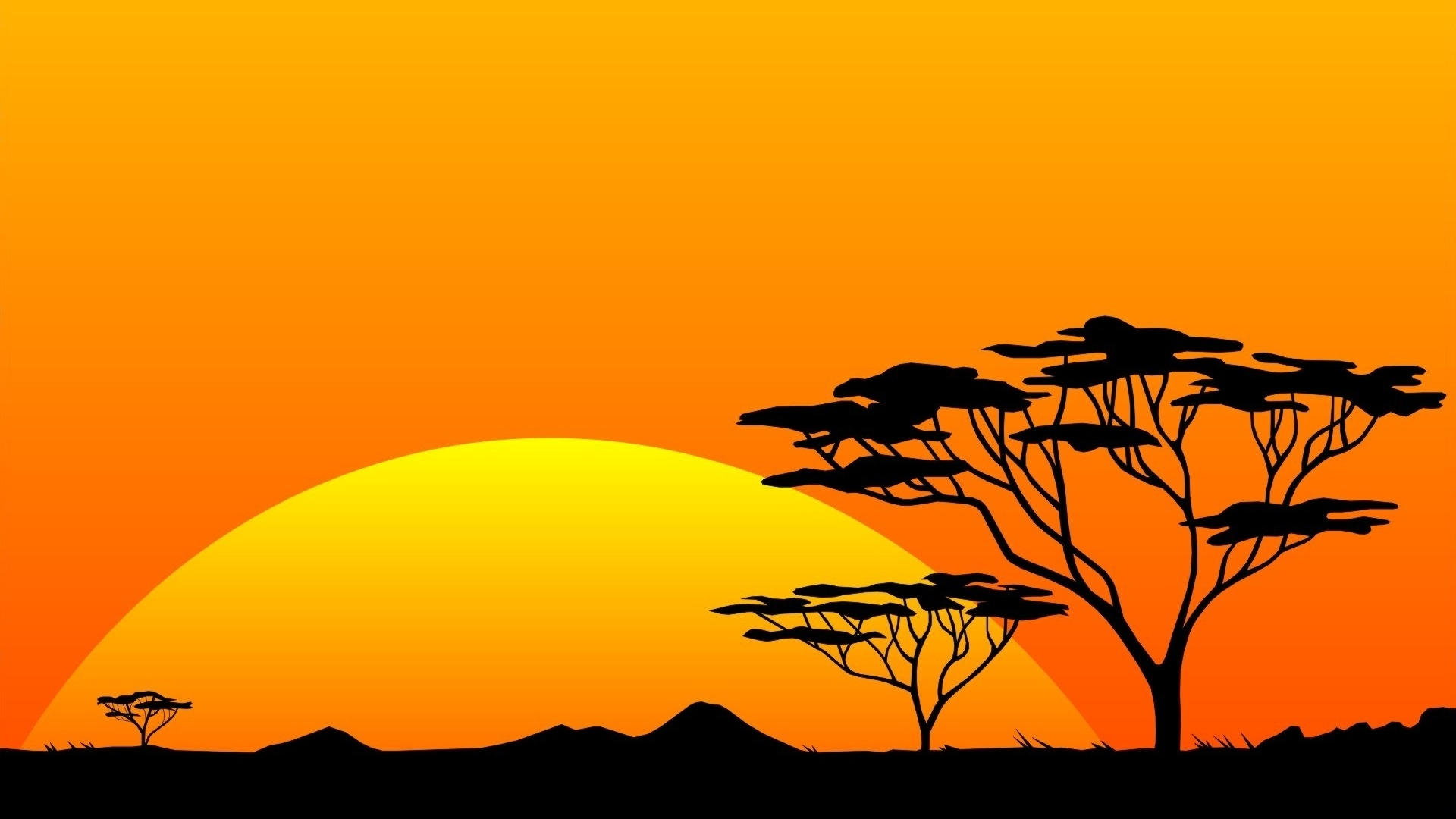 1920x1080-Yellow-Sun-Orange-Sky-Africa-wallpaper-wp340999
