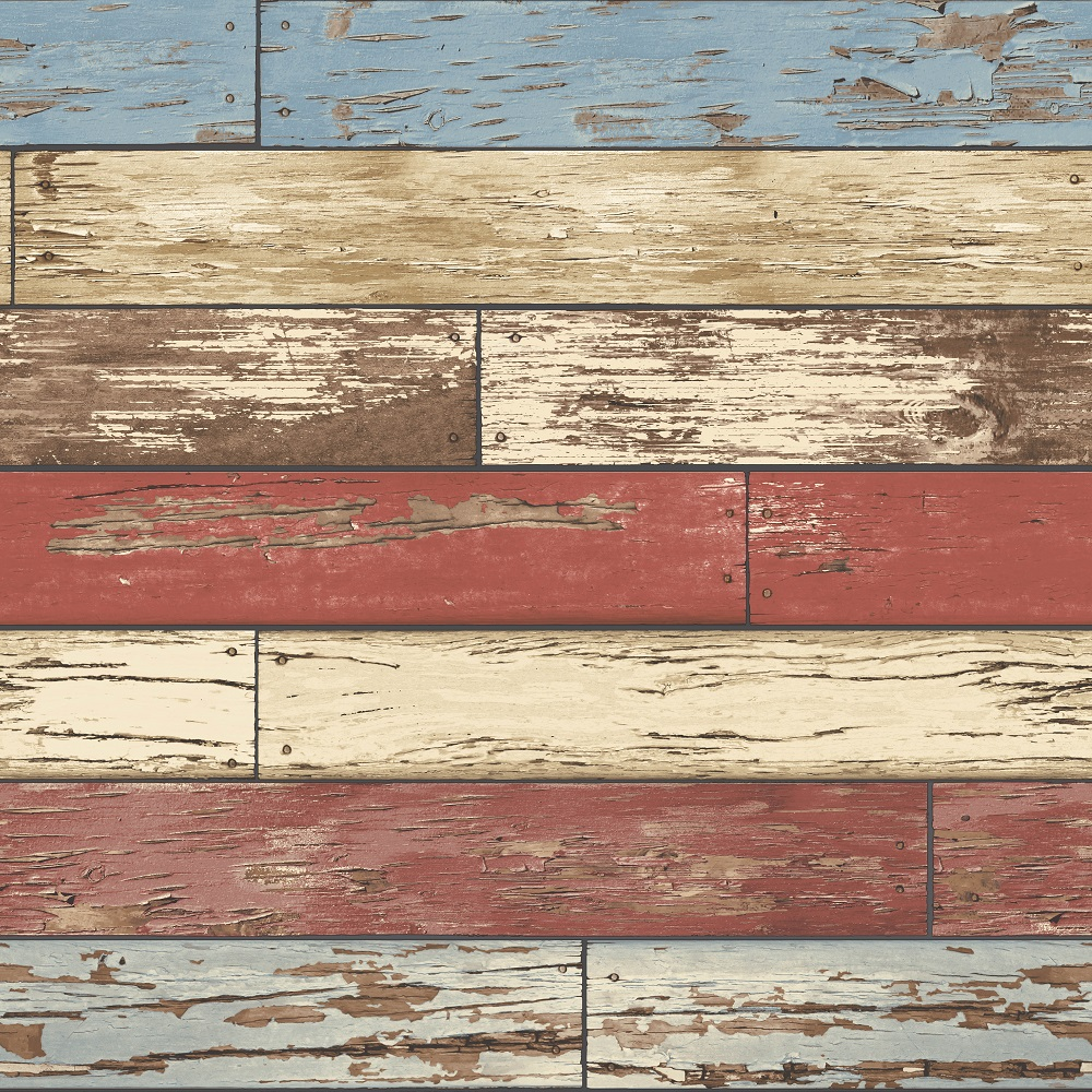 A-Street-Prints-Scrap-Wood-Weathered-wooden-planks-a-with-flaking-blue-and-red-paint-eff-wallpaper-wp5803239