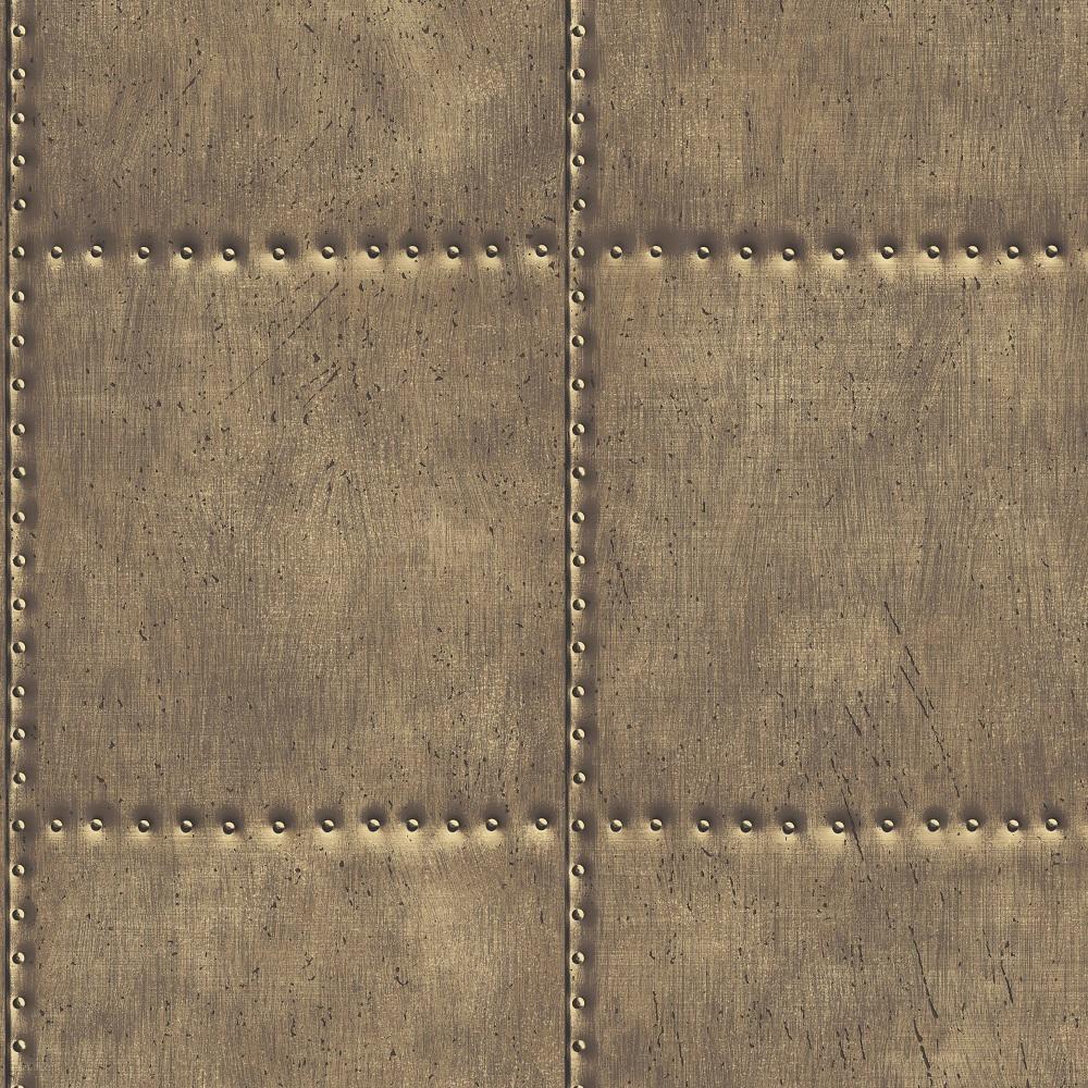 A-Street-Prints-brass-coloured-sheet-metal-wallpaper-wp5803233