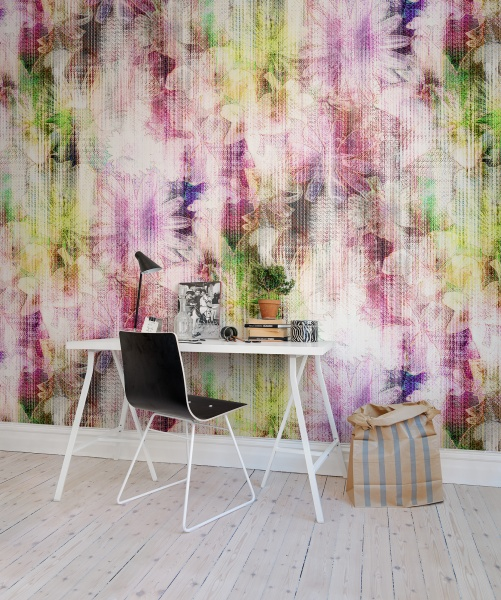 A-classic-floral-design-combined-with-geometric-shapes-creates-an-interesting-futuristic-combination-wallpaper-wp5203654