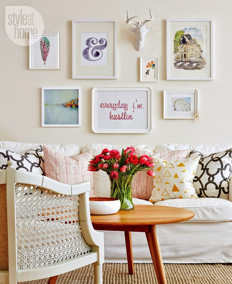 A-cute-apartment-with-a-fresh-clean-feel-splashed-with-shades-of-pink-Gorgeous-gallery-wall-Styli-wallpaper-wp4603381