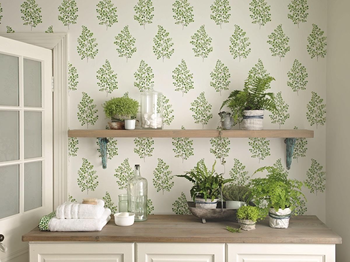 A-delicate-fresh-botantical-design-of-an-Angel-Fern-motif-wallpaper-wp423345