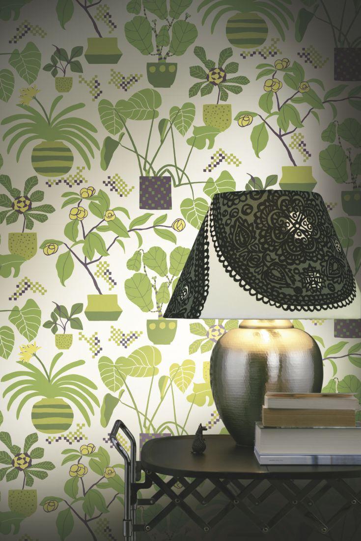 A-fun-pot-plant-design-by-Marimekko-wallpaper-wp423352