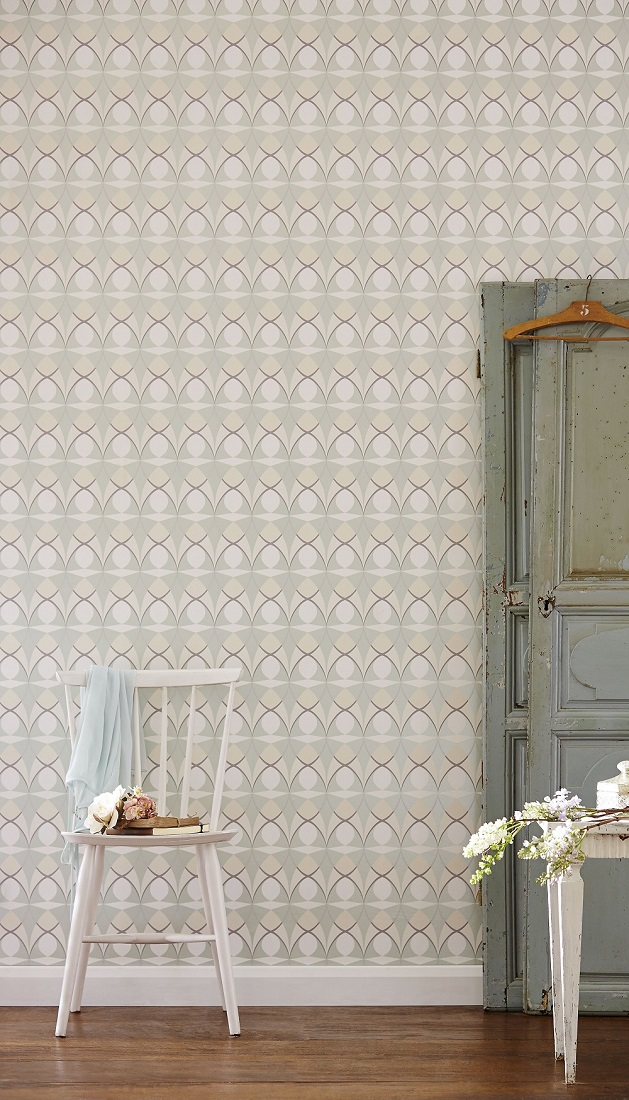 A-retro-styled-design-featuring-an-all-over-geometric-pattern-wallpaper-wp423375