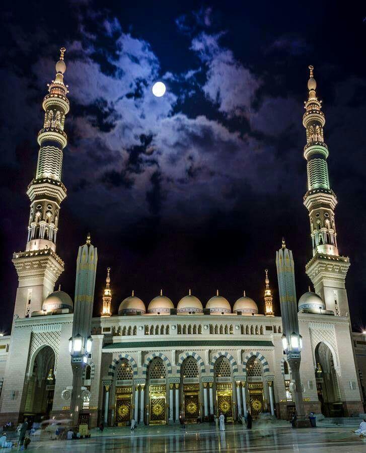 AL-masjid-AL-nabawi-AL-madina-AL-monawara-Saudi-Arabia-wallpaper-wp6001952