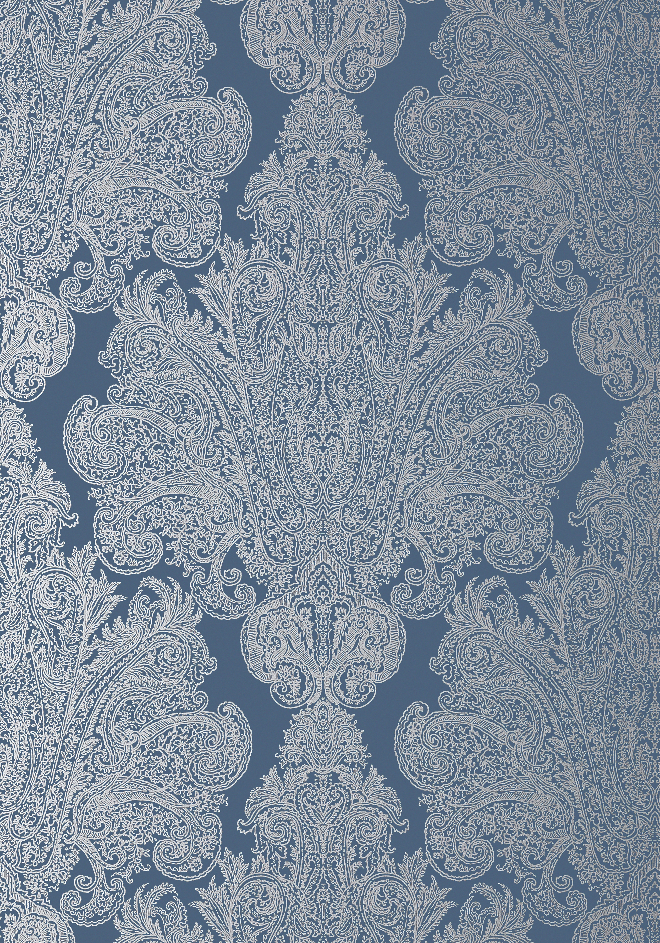 AUBURN-Metallic-Silver-on-Navy-AT-Collection-Serenade-from-Anna-French-wallpaper-wp3003366