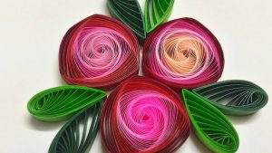 Beautiful Quilling wallpaper