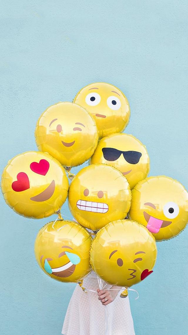 Abstract-Funny-Cute-Emoji-Balloons-iPhone-s-wallpaper-wp5203785