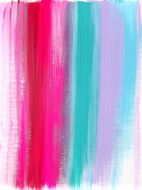 Abstract-Pink-Teal-Ruby-Original-Acrylic-Painting-Modern-Home-Decor-Neon-wallpaper-wp3002976
