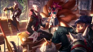 Ligue des peaux Legends wallpaper