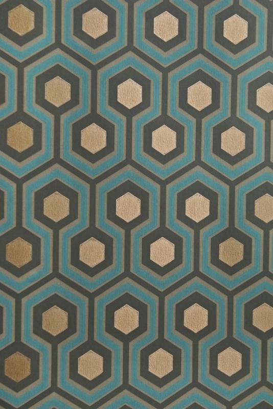 Accent-wall-in-Master-Bathroom-Hicks-Hexagon-Small-Geometric-Design-design-in-wallpaper-wp5203792
