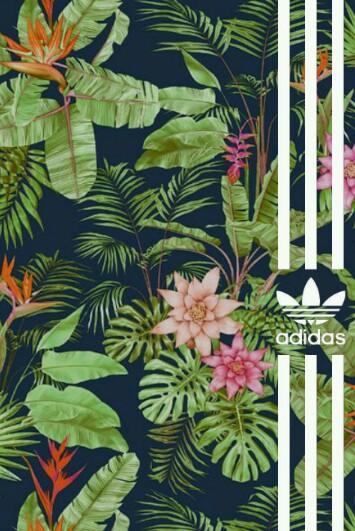 Adidas-tropical-flowers-wallpaper-wp4404211