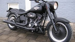 Harley Fat Boy tapet