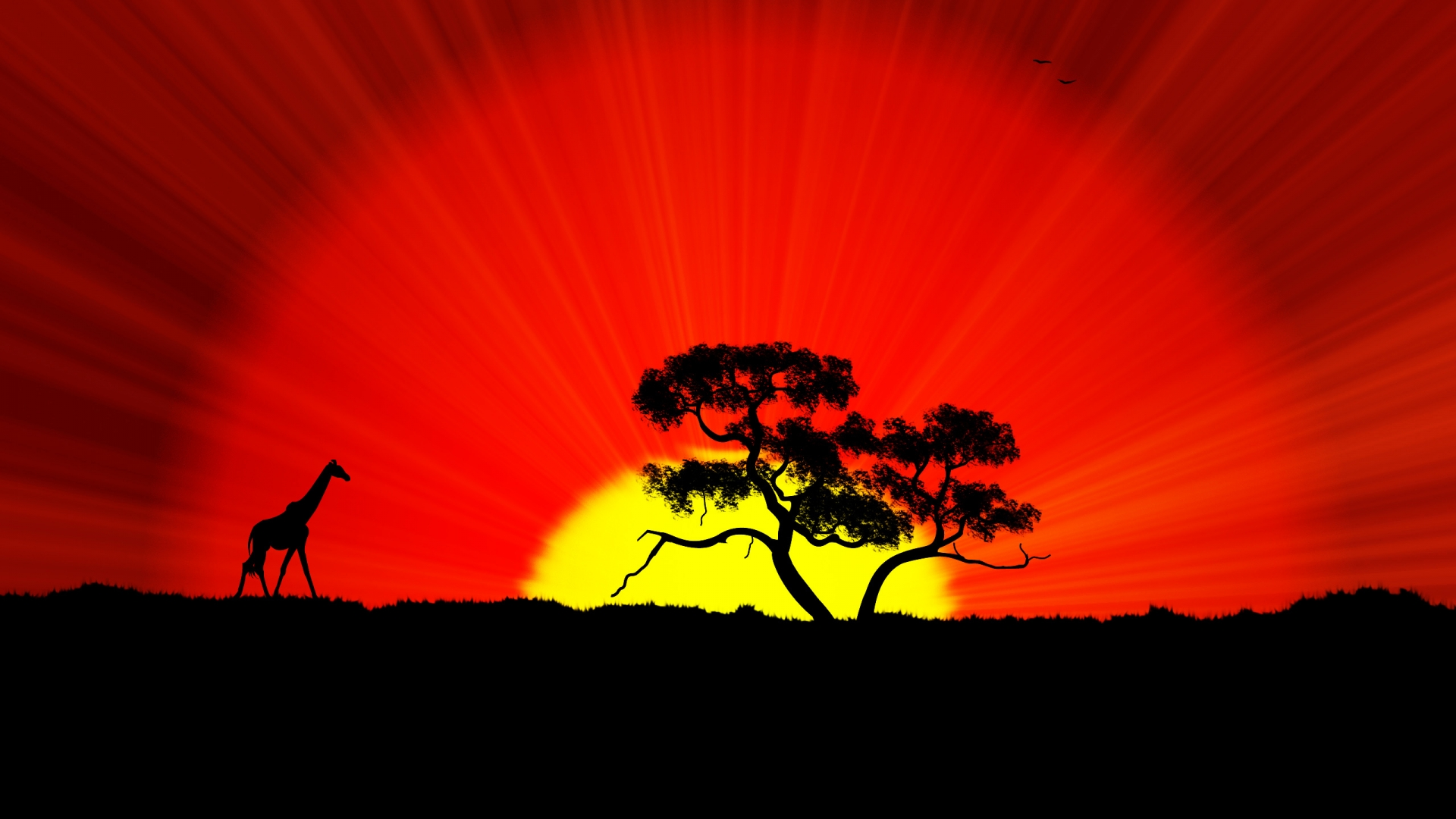 Africa-Silhouettes-Elephants-x-wallpaper-wp3402199