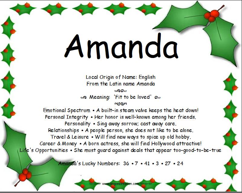 Amanda-Name-Meaning-Angies-Creation-wallpaper-wp4804070