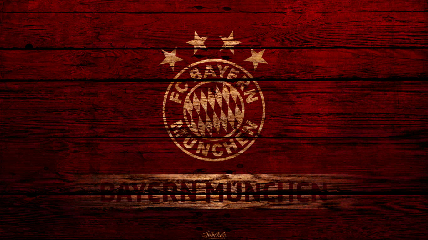 Amazing-Bayern-Munchen-Football-Logo-HD-Background-Widescreen-wallpaper-wp3402291
