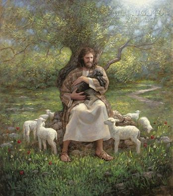Amazing-Jesus-painted-by-Jon-McNaughton-wallpaper-wp6001991