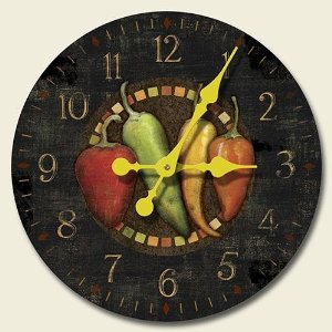 Amazon-com-Cantina-Chili-Peppers-inch-Decorative-Wood-Wall-Clock-by-Highland-Graphics-wallpaper-wp5803403