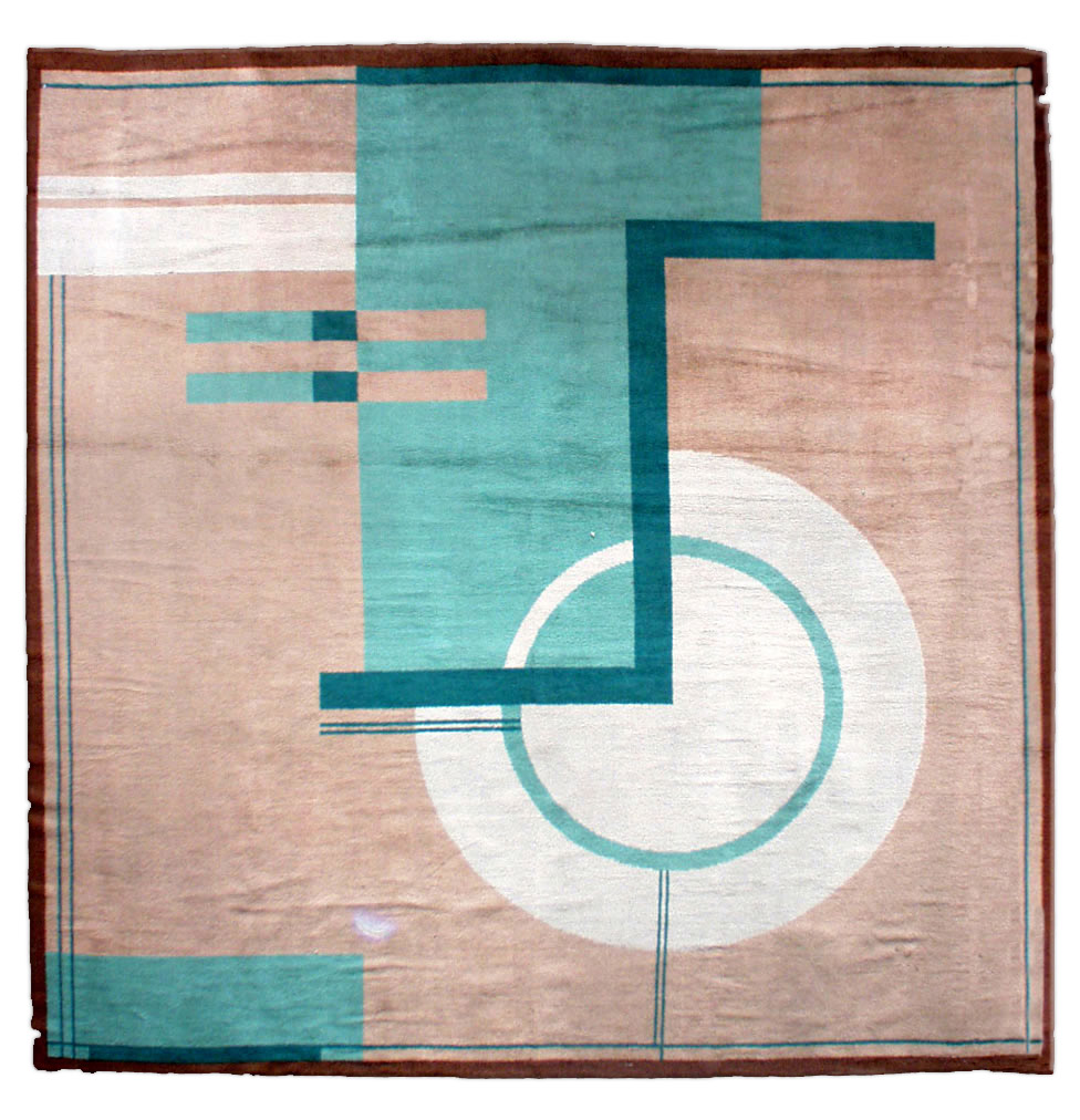 An-Art-Deco-rug-BB-A-modern-early-th-century-Art-Deco-rug-the-open-camel-field-with-overblo-wallpaper-wp4804151