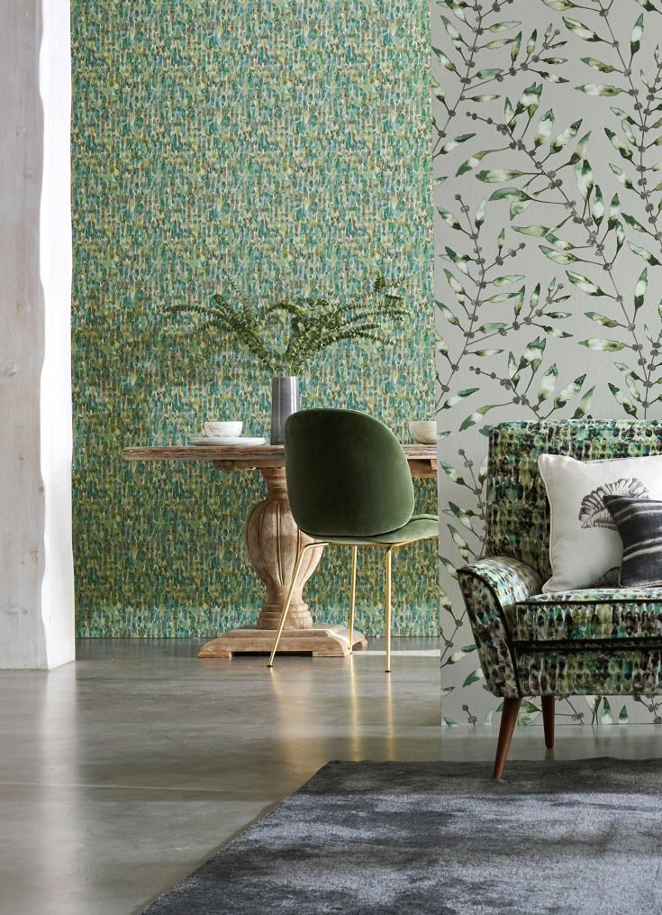 An-all-over-feather-like-design-with-rows-of-overlapping-feathers-in-shades-of-two-colours-wallpaper-wp423621