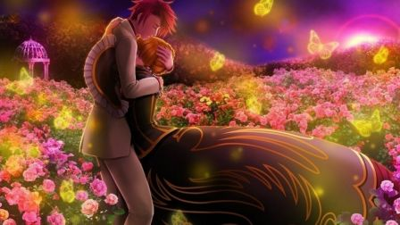 Anime-couple-man-flower-fields-girl-HD-wallpaper-wp6002018