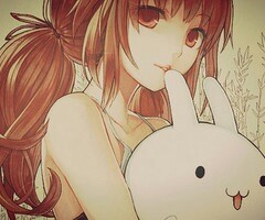 Anime-girl-with-bunny-wallpaper-wp540600