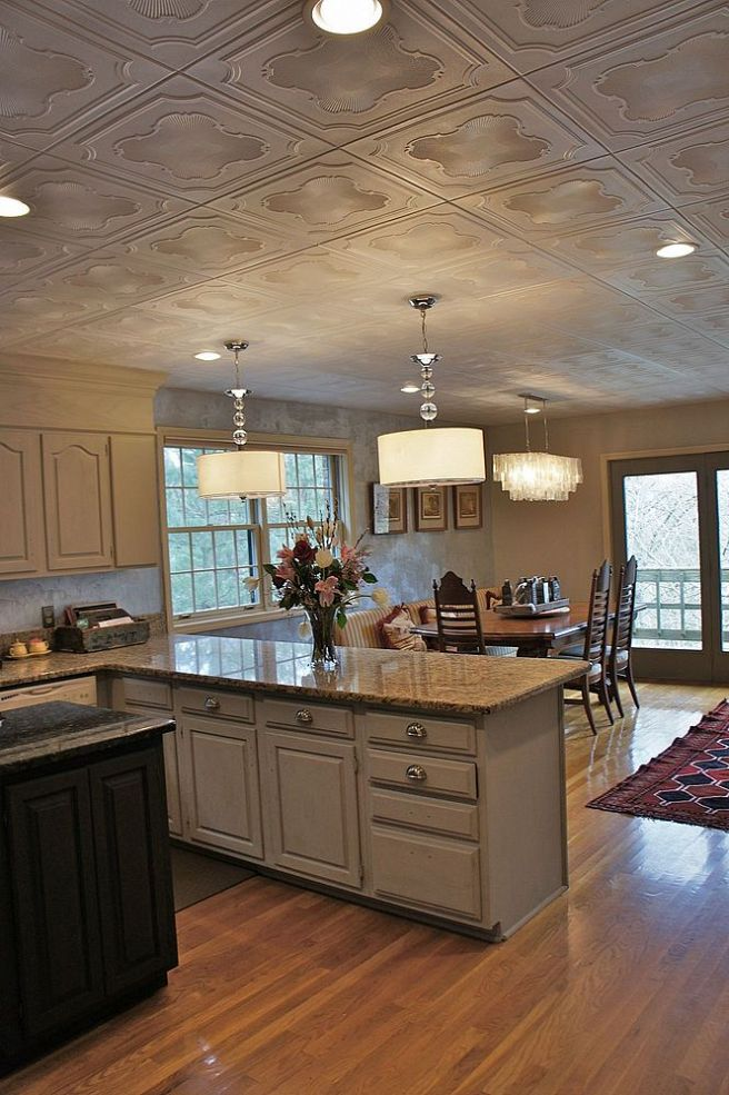 Another-low-cost-big-impact-popcorn-ceiling-makeover-using-easy-glue-up-styrofoam-panels-wallpaper-wp5004654