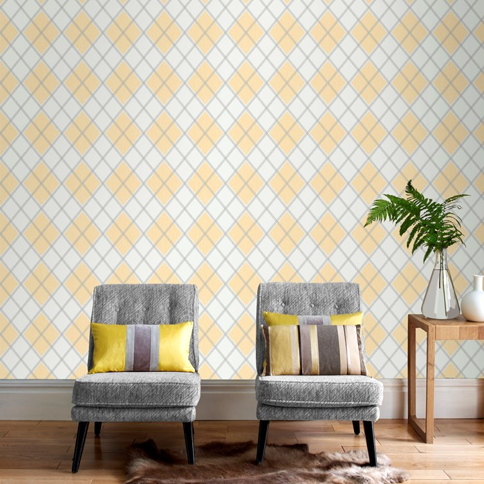 Argyle-Ochre-by-Graham-and-Brown-wallpaper-wp3003309