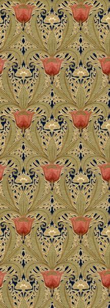 Art-Nouveau-Tulip-Garden-ca-%E2%80%93-Late-Victorian-Early-Arts-and-Craftst-wallpaper-wp42145