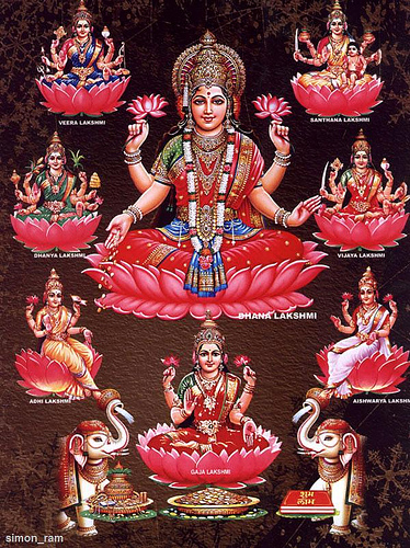 Ashta-Lakshmi-Maa-Goddess-of-Wealth-and-Prosperity-wallpaper-wp6002106