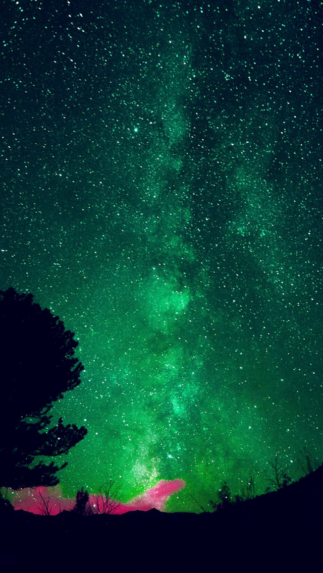 Aurora-Night-Sky-Star-Space-Nature-Green-iPhone-s-wallpaper-wp423816-1