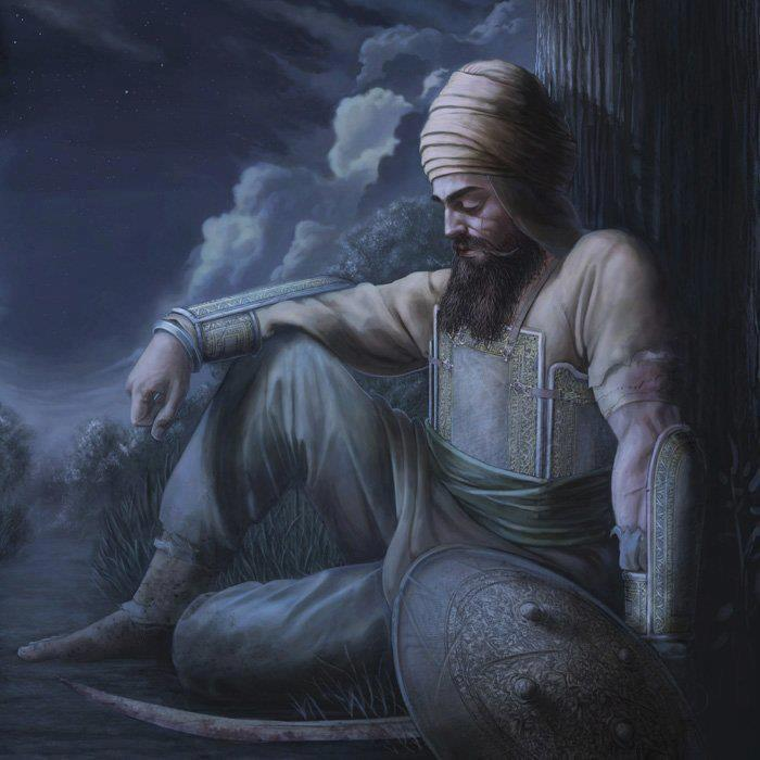 Awesome-Painting-Of-Guru-Gobind-Singh-Ji-wallpaper-wp5403471