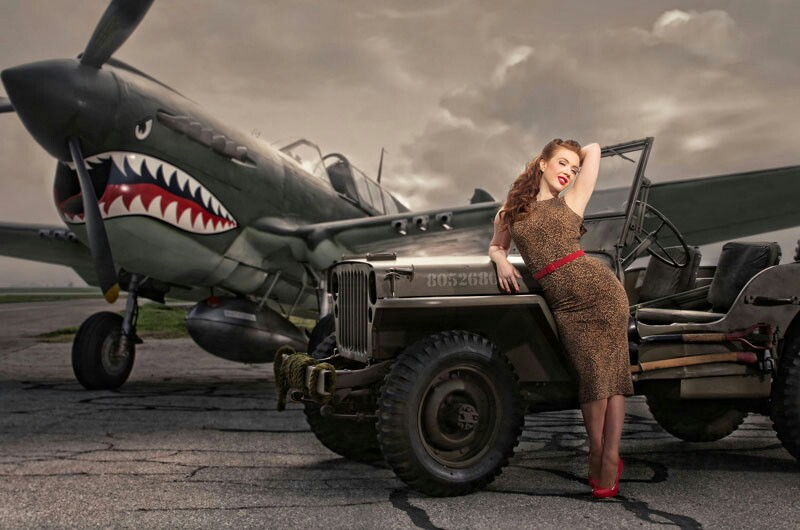 Awesome-plane-and-jeep-Girl-could-not-be-in-it-wallpaper-wp4404704