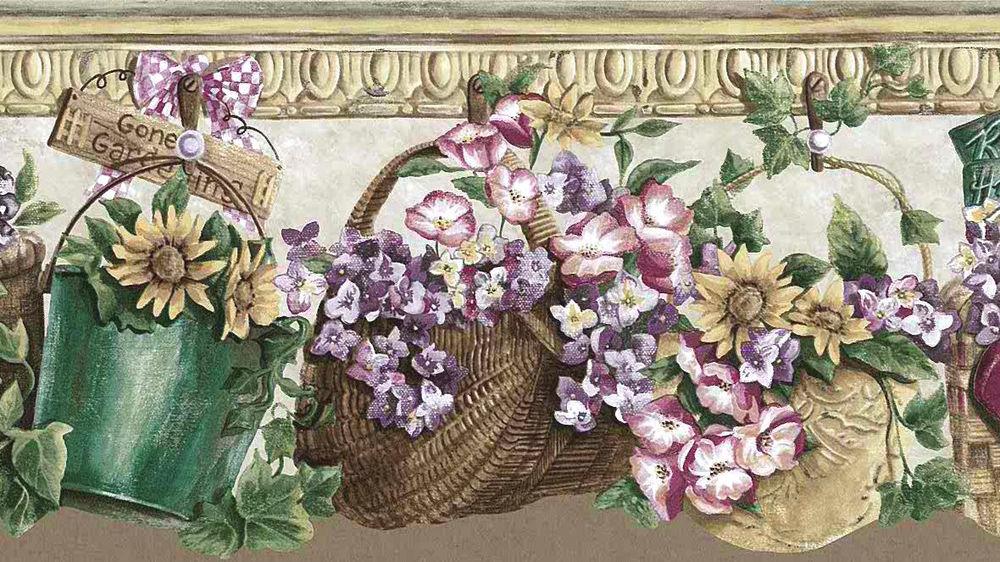 BEIGE-FLORAL-Cutout-Wall-Border-Americana-Daisies-Pansies-S-A-Maxwell-B-SAMaxwell-lovewal-wallpaper-wp4405035