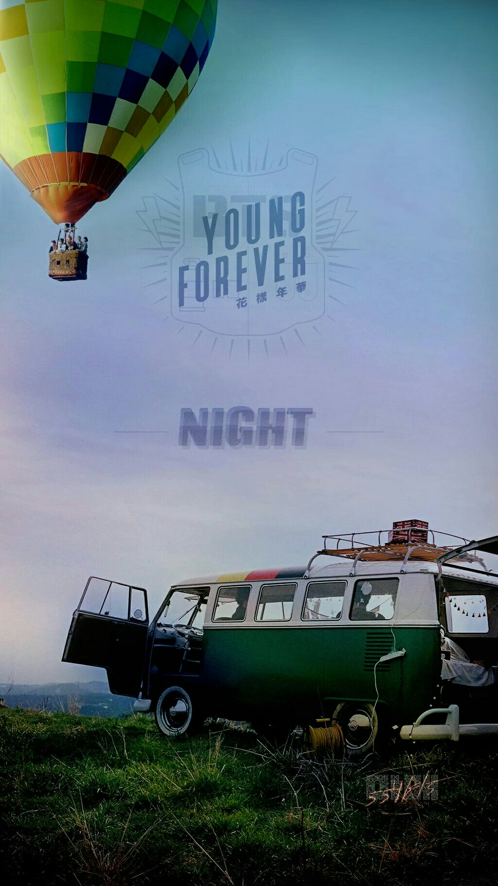 BTS-Young-Forever-Night-ver-wallpaper-wp5603618