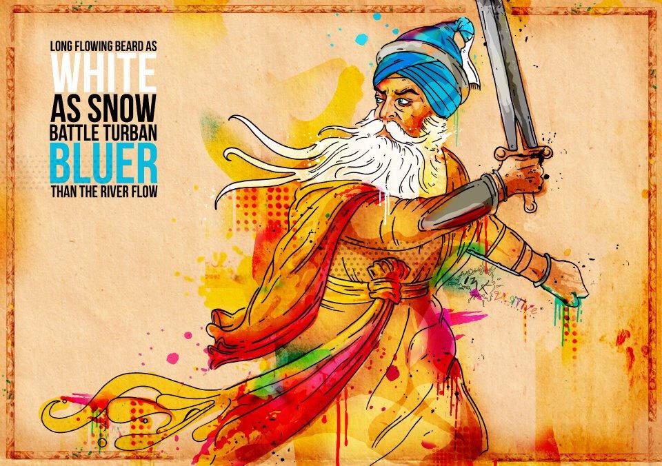 Baba-Deep-Singh-by-FulkariBazaar-on-Etsy-https-www-etsy-com-listing-baba-deep-singh-wallpaper-wp5004938