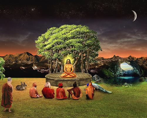 Babaji-Preaching-wallpaper-wp423878-1