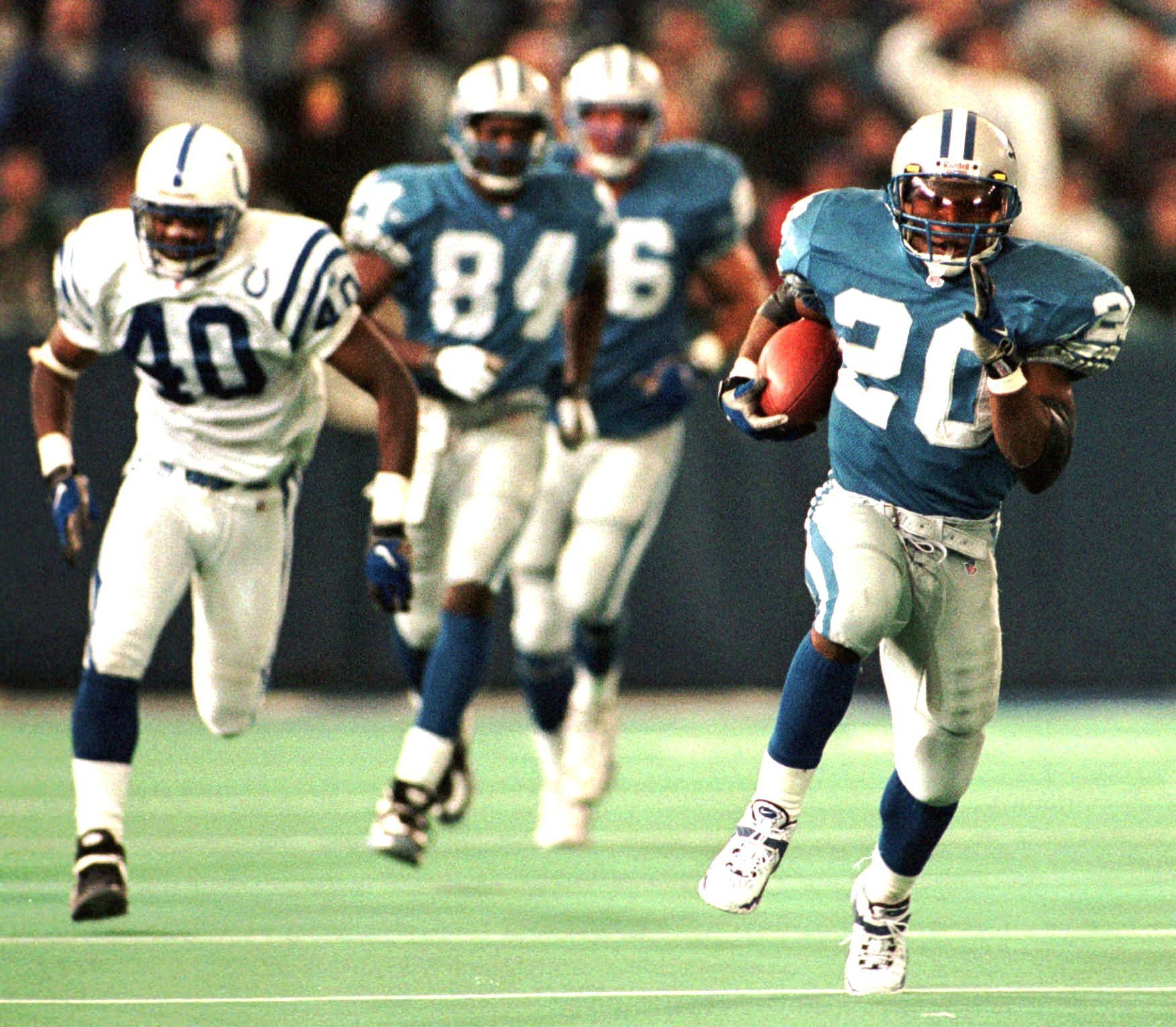 Barry Sanders Wallpaper Wp4001095