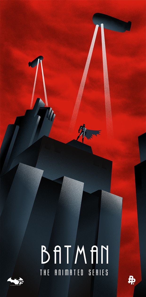Batman-The-Animated-Series-th-Anniversary-Artwork-wallpaper-wp3003501