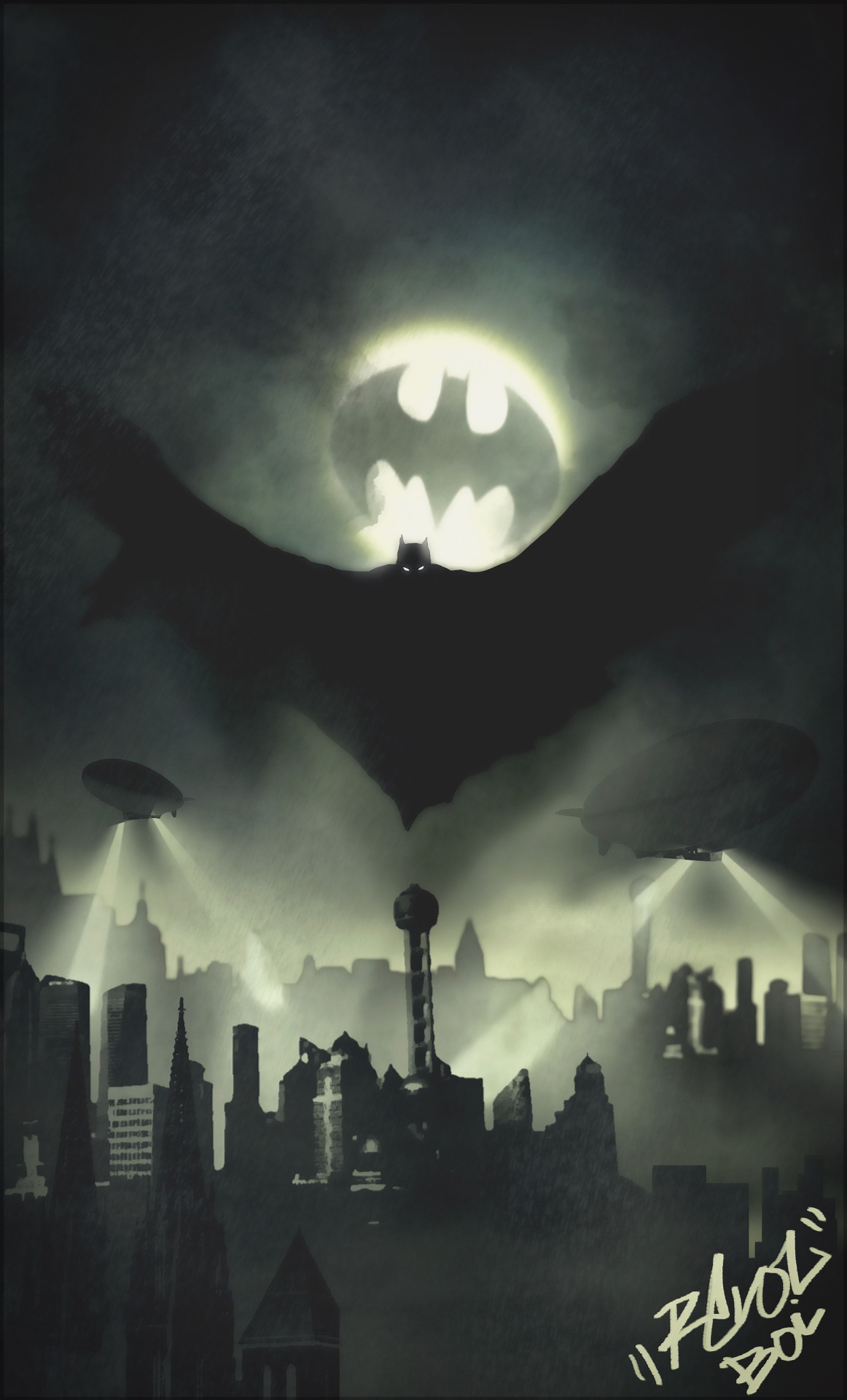 Batman-by-Dillon-Lamando-wallpaper-wp3003497
