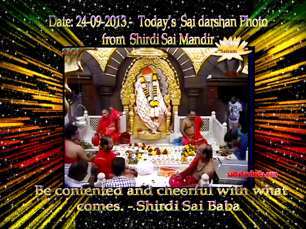 Be-contented-and-cheerful-with-what-comes-Sai-Baba-Monday-Today-s-Sai-Baba-darshan-wallpaper-wp3003520
