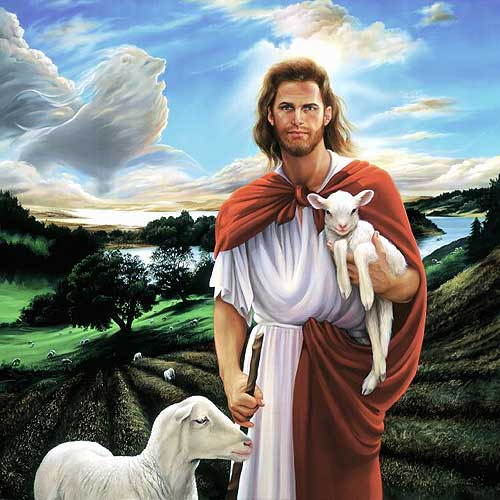 Beautiful-Jesus-Backgrounds-Beautiful-Painting-of-Jesus-Christ-and-sheep-with-background-Horses-wallpaper-wp6002273