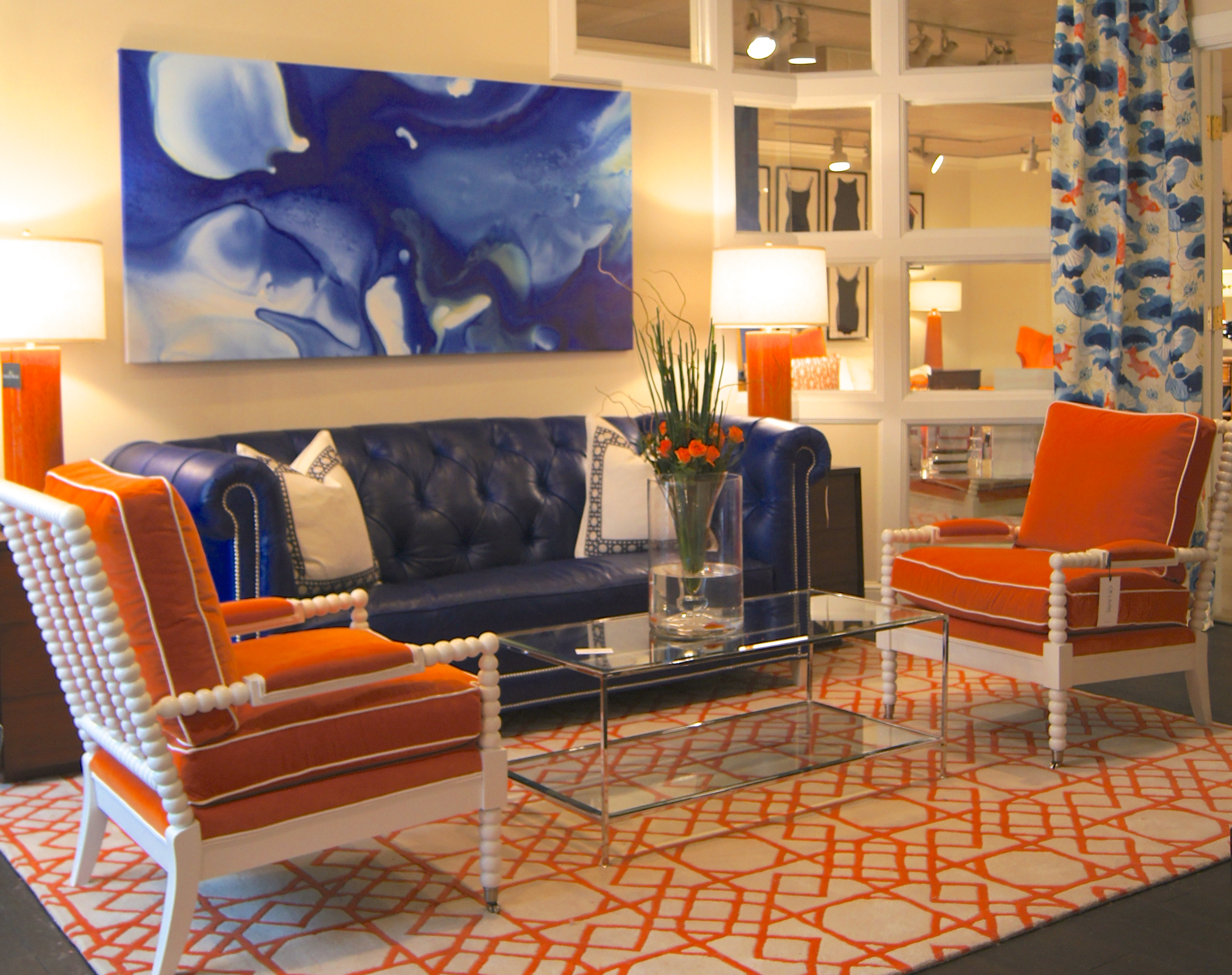 Beautiful-Topeka-Sofa-in-Trending-Cosmic-Cobalt-Blue-Analine-Leather-with-tufting-with-pewter-nailhe-wallpaper-wp3003569