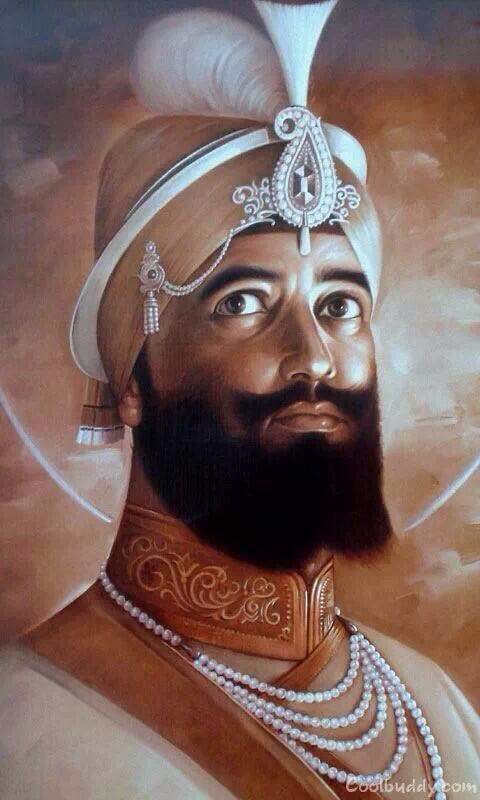 Beautiful-portrait-of-Guru-Gobind-Singh-Ji-wallpaper-wp5005130