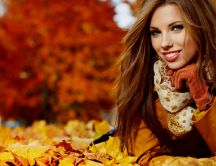 Beautiful-smile-and-a-professional-photo-in-the-park-wallpaper-wp3603145