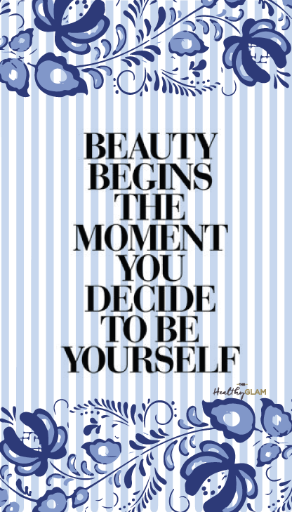 Beauty-begins-the-moment-you-decide-to-be-yourself-phone-wallpaper-wp4604145